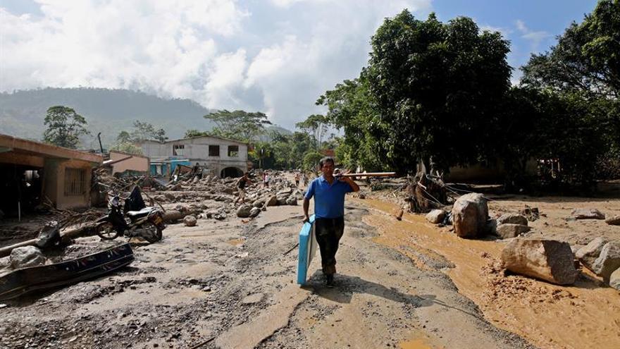 China dona a Colombia un millón de dólares para atender la tragedia en Mocoa