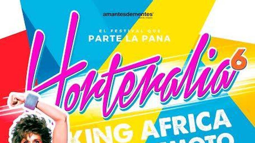 Cartel de la sexta edición del festival 'Horteralia'.