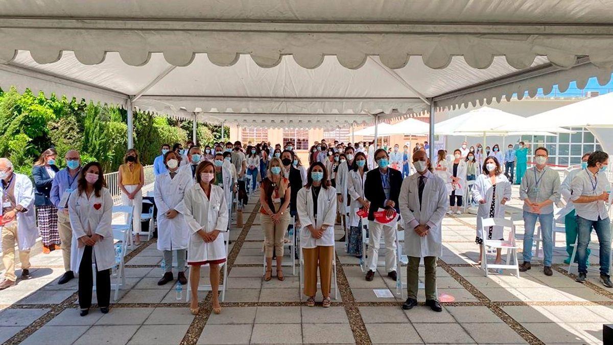Acto de despedida a los residentes del Hospital Reina Sofía.