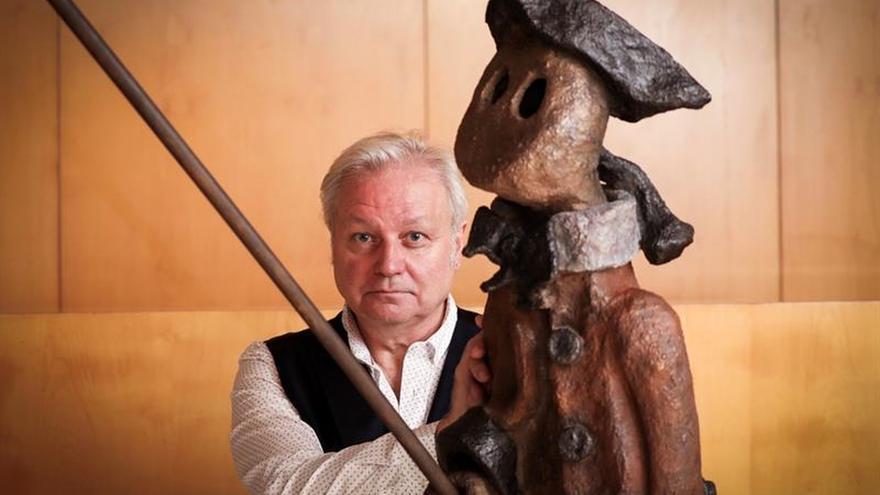 """El alma de Miró planea en la exposición de """"Jardín circunflexo"""" de Xavier, en Barcelona"""