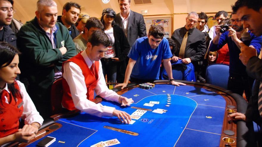 Campeonato de póker en el casino de A Toxa
