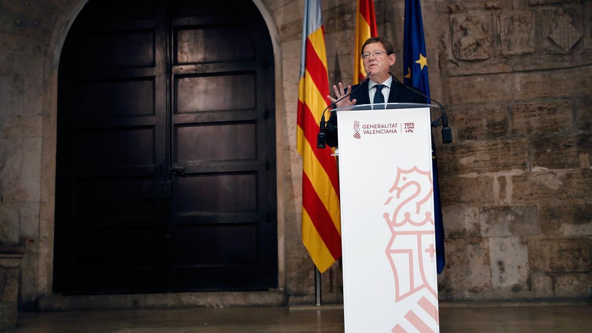 El presidente de la Generalitat Valenciana, Ximo Puig. EFE/Juan Carlos Cárdenas/Archivo