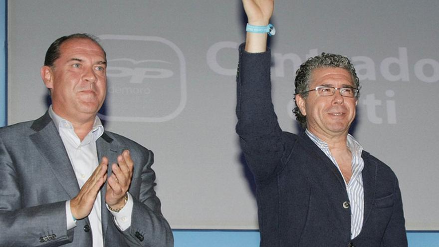 Francisco Granados en la presentación como candidato de José Carlos Boza.