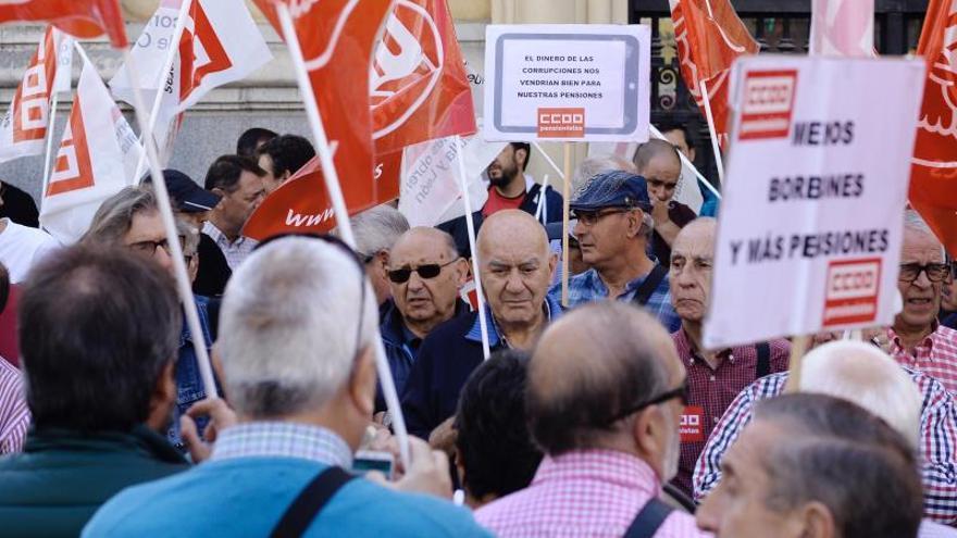 Concentración para defender el Estado del Bienestar, el envejecimiento activo y las pensiones.