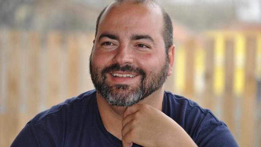 Sergio Puente Betancort, candidato a liderar Podemos en Canarias.
