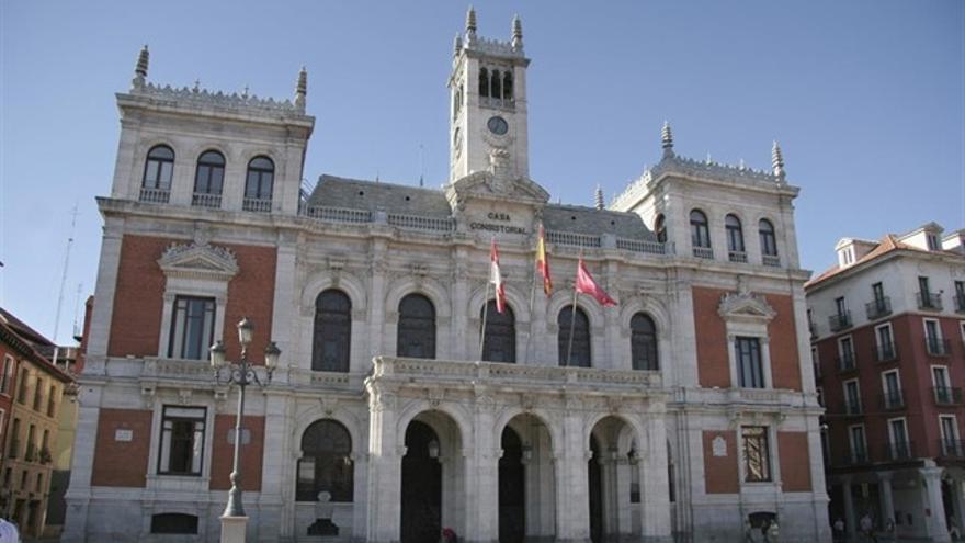 El Ayuntamiento de Valladolid en una imagen de archivo.