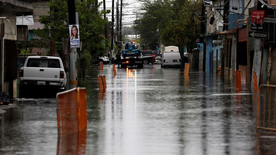 La depresión tropical Josephine deja ligeras lluvias sobre el Caribe