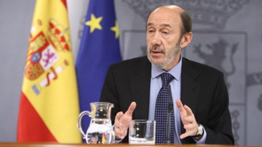 Vicepresidente primero del Gobierno y ministro del Interior, Alfredo Pérez Rubal