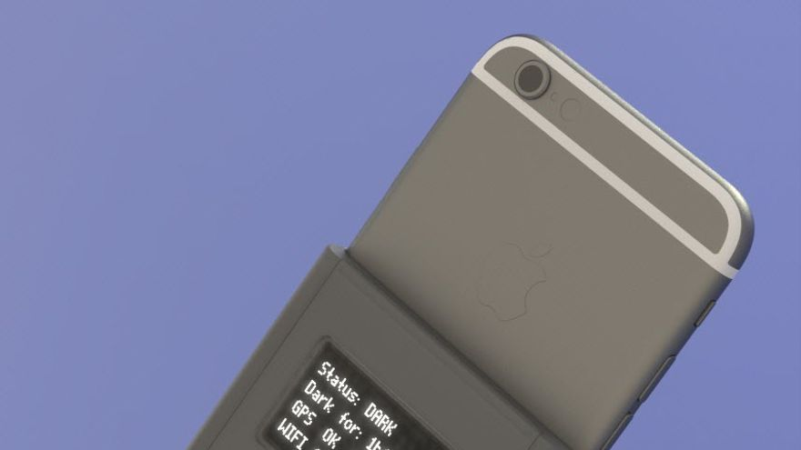 El dispositivo diseñado por Snowden y Huang