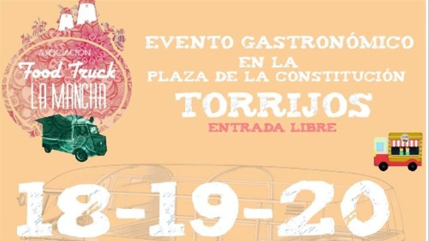 Evento de Food Trucks en Torrijos (Toledo)