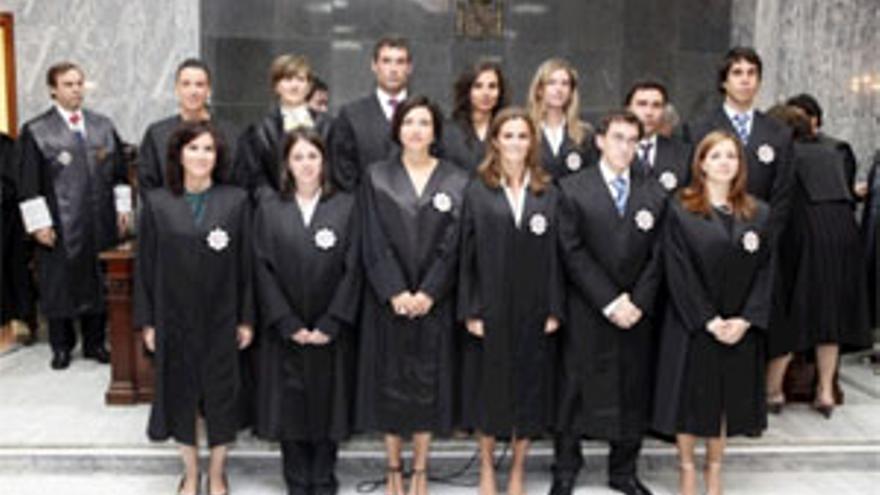 Toma de posesión de los nuevos jueces. (ACFI PRESS)
