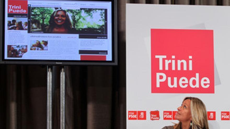 Trinidad Jiménez presenta su web a las primarias