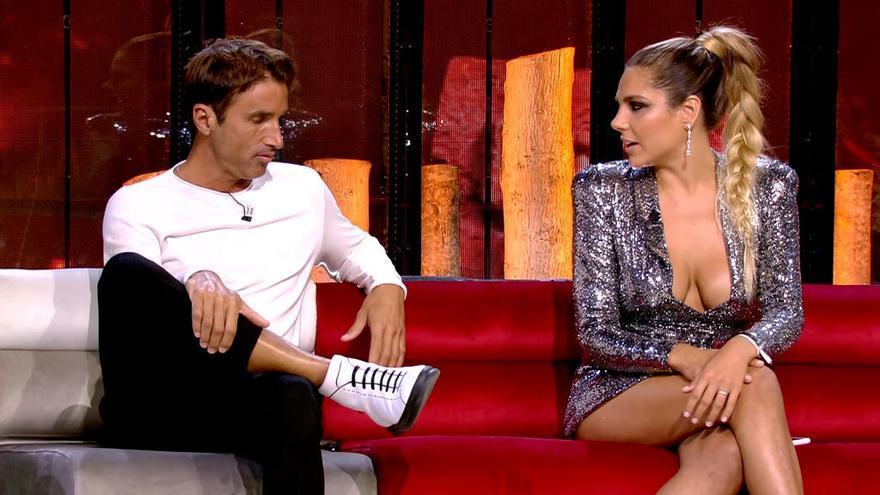 Hugo e Ivana en 'Supervivientes, el Debate Final'
