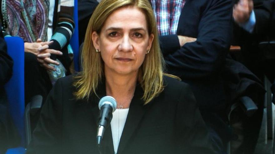 La infanta Cristina asegura que nunca ha tenido cuentas en paraísos fiscales
