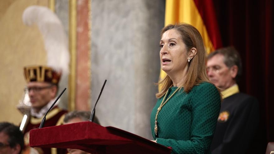 """Ana Pastor ensalza """"las grandes transformaciones"""" en el Congreso que hizo Marín y su labor en la construcción de la UE"""