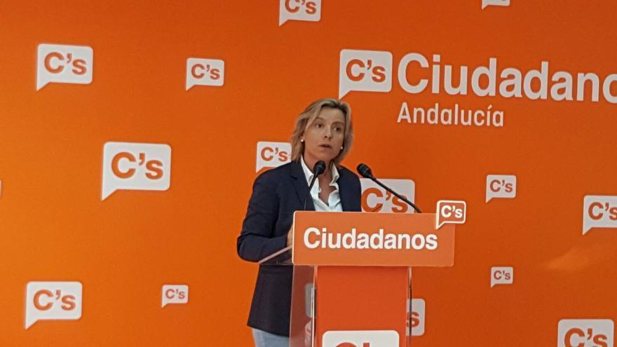 Isabel Albás, diputadas de C's en el Parlamento de Andalucía.