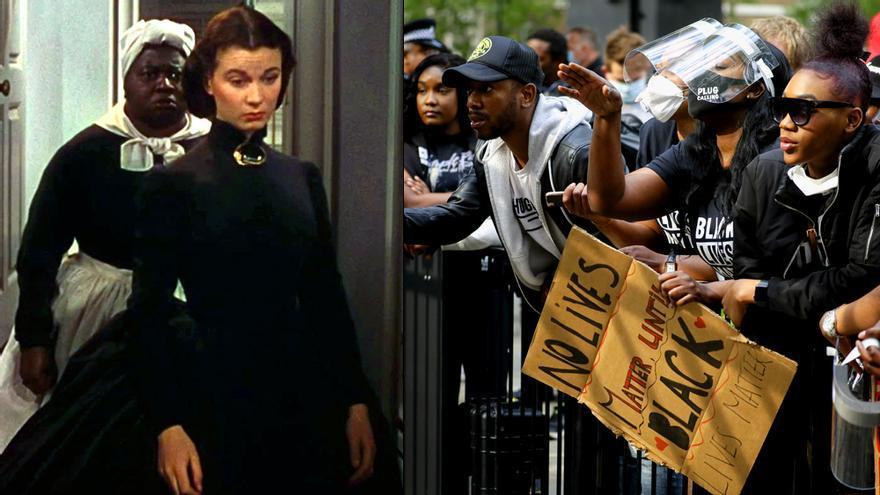 La televisión como telón de fondo de las protestas raciales