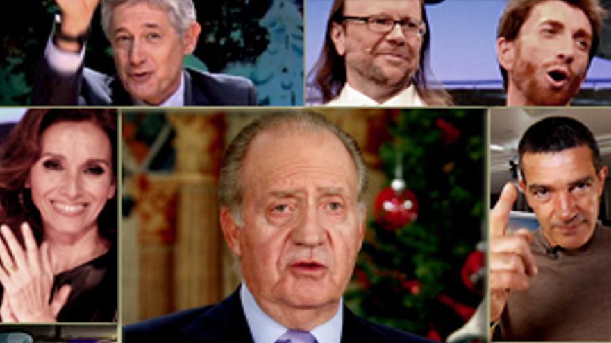 El mensaje más comprometido del Rey marcó la Nochebuena en TV