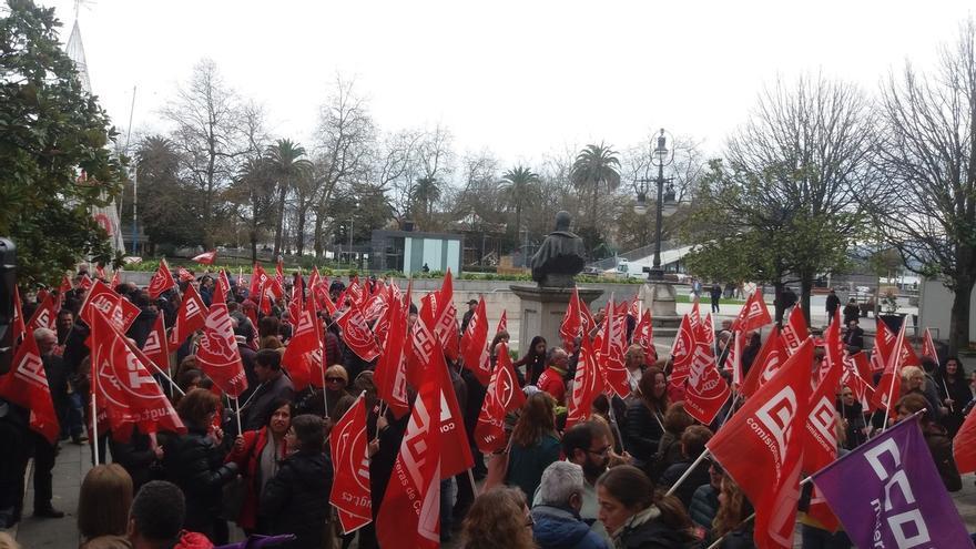 """UGT y CCOO aumentarán la """"presión en la calle"""" si no se deroga la reforma laboral"""