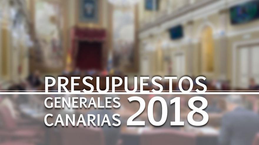 Los presupuestos de la Comunidad Autónoma de Canarias se debaten a partir de este martes en el Parlamento de Canarias.