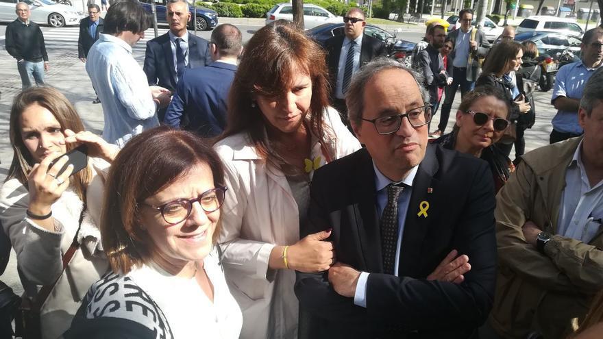 El president Torra ha expresado su apoyo a los directivos de los medios públicos.