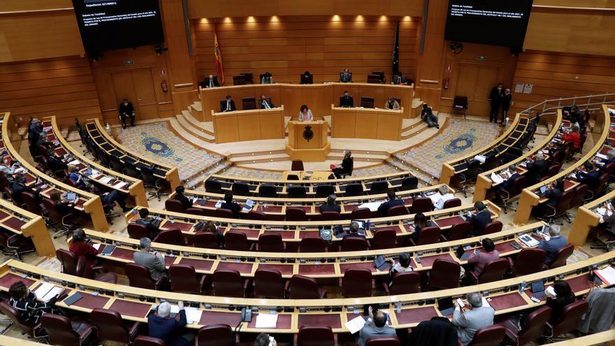 """El Senado debate una moción del PSOE para aislar """"extremismos"""" como el de Vox"""