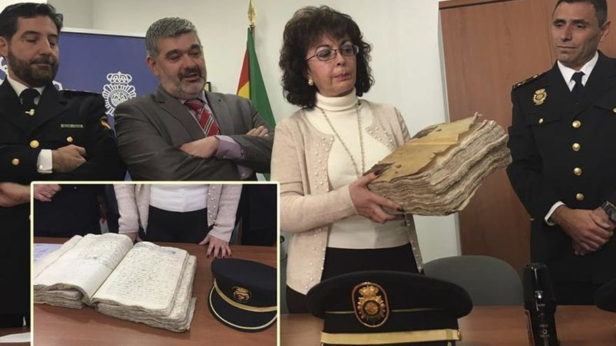 La Policía recupera un manuscrito del siglo XVII ofertado en 750.000 euros
