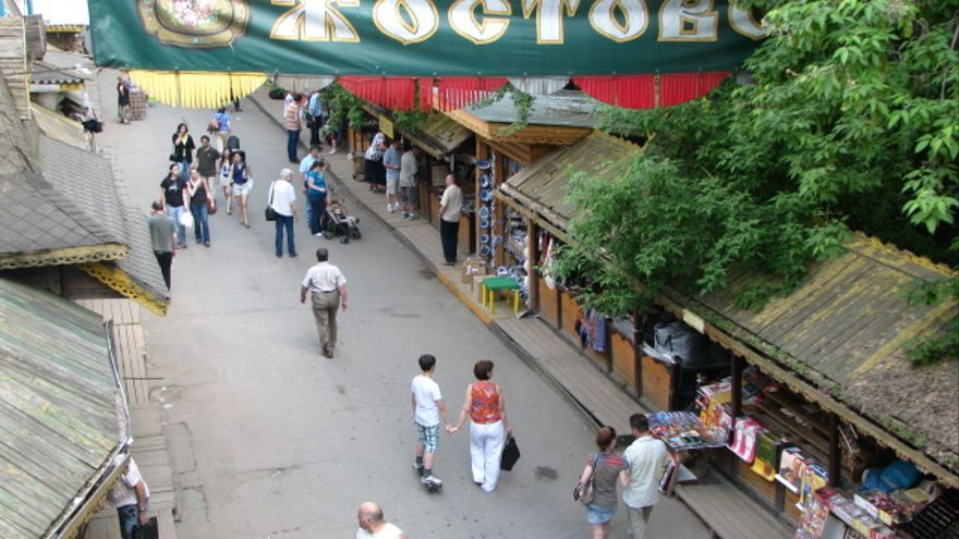 Mercado de Izmailovo.