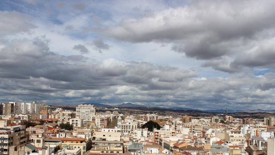 Nubes sobre el norte de Murcia / PSS