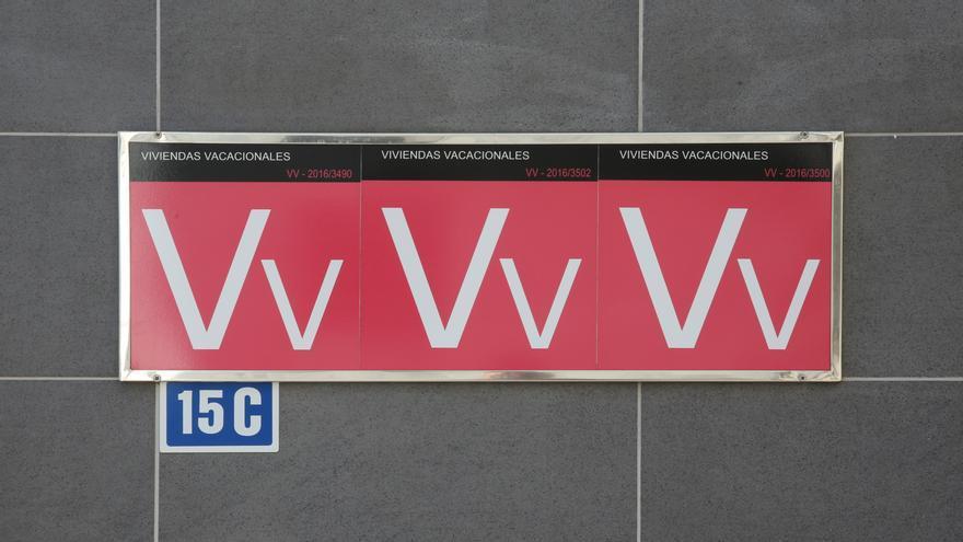 Letreros de viviendas vacacionales