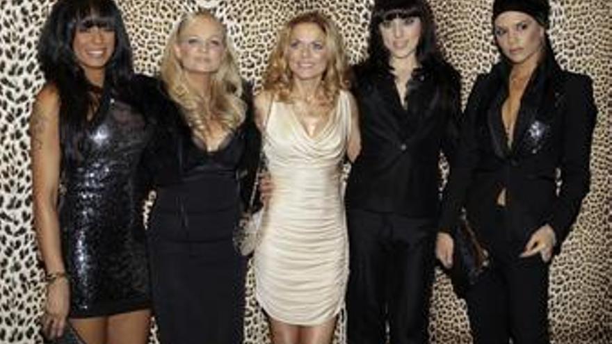 El grupo Spice Girls