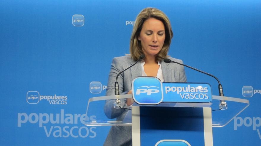 """Quiroga cree que PNV es """"consciente"""" de que la sociedad vasca """"no le seguiría"""" en un proceso similar al catalán"""