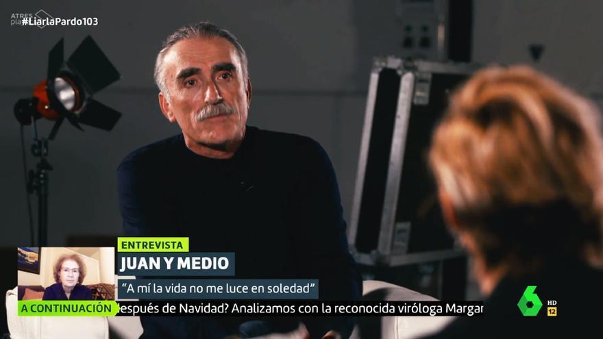 Juan y Medio, en 'Liarla Pardo'