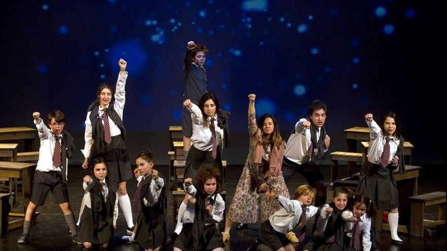 Alumnos de las Escuela de Artes Escénicas del Palacio de Festivales representarán el musical 'Matilda'