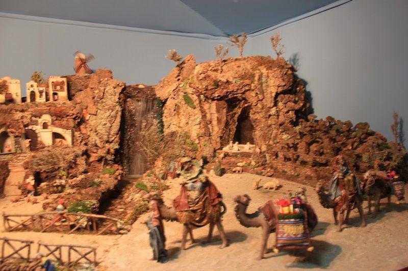 El belén de Gregorio, una de las tradiciones de Malasaña en Navidad