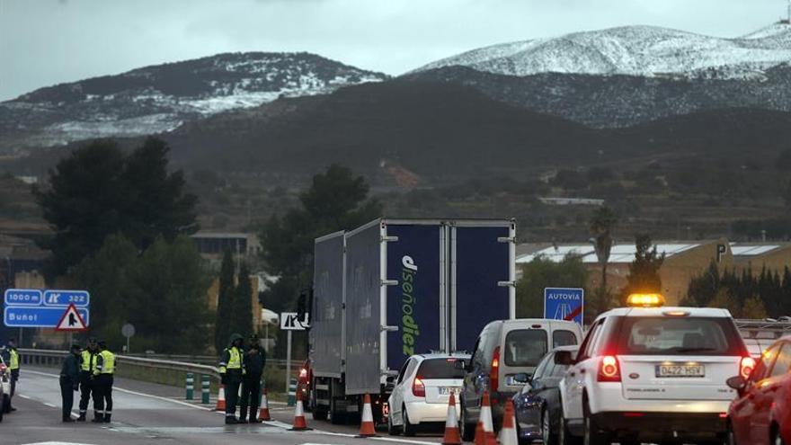 Se reabre al tráfico para turismos la A-3 en sentido a Valencia y a Madrid