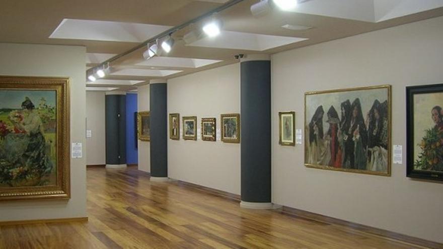 Vista del museo de la familia Lladró donde guardan su colección de pinturas