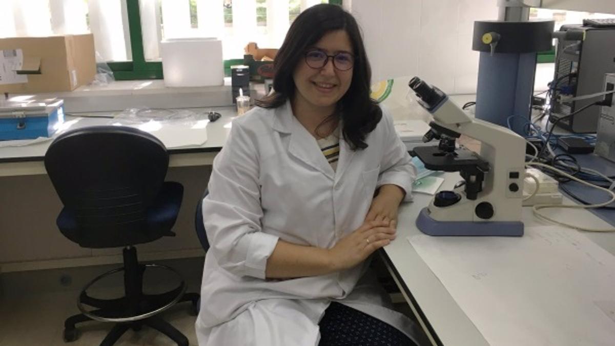 La investigadora principal del proyecto contra la seca de la encina, María Socorro Serrano.