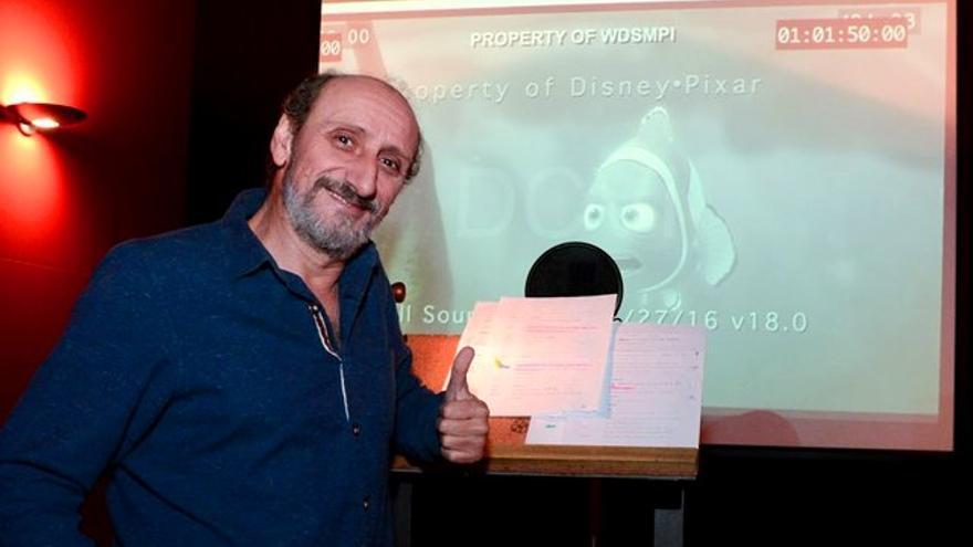 El nuevo personaje animado de José Luis Gil tras Marlin y Buzz Lightyear