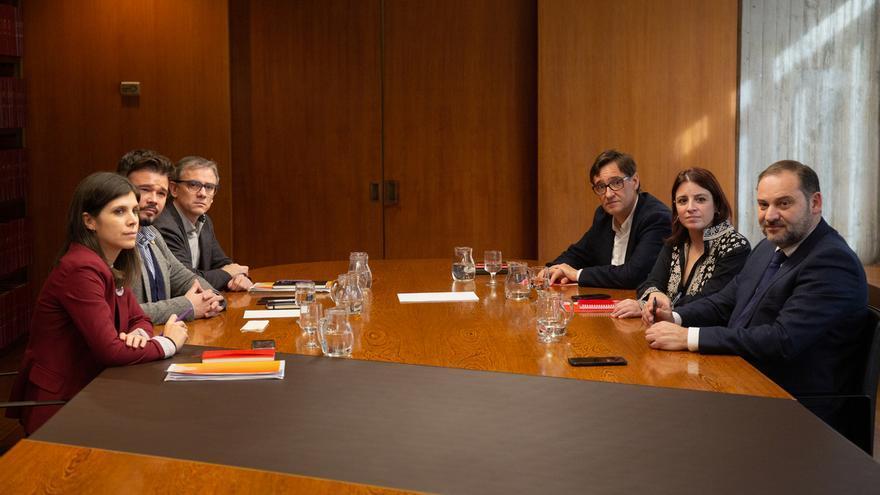 ERC descarta cerrar el acuerdo con el PSOE antes de fin de año