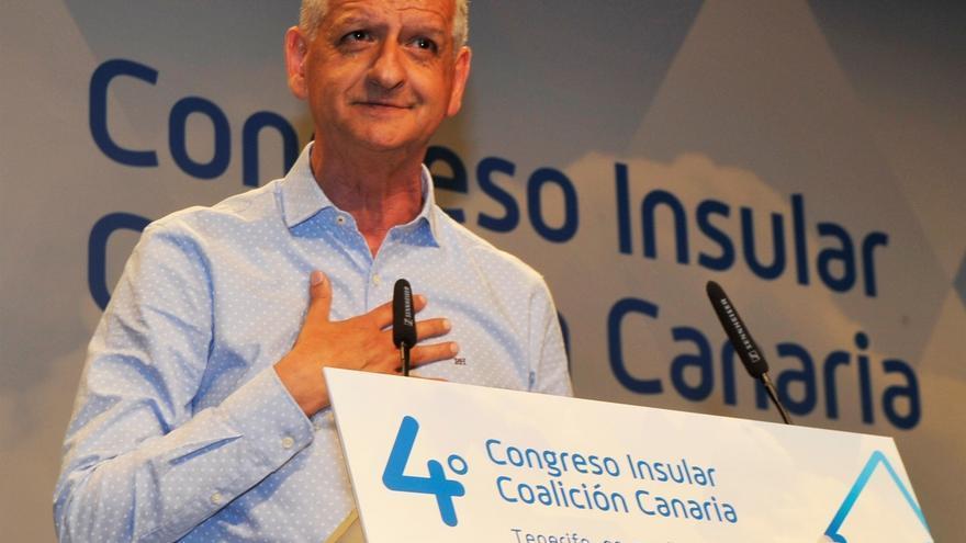 El secretario general de Coalición Canaria (CC) en Tenerife y alcalde de La Orotava, Francisco Linares.