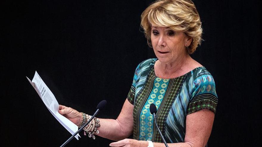 Aguirre niega que Fundescam financiase campañas electorales del PP de Madrid