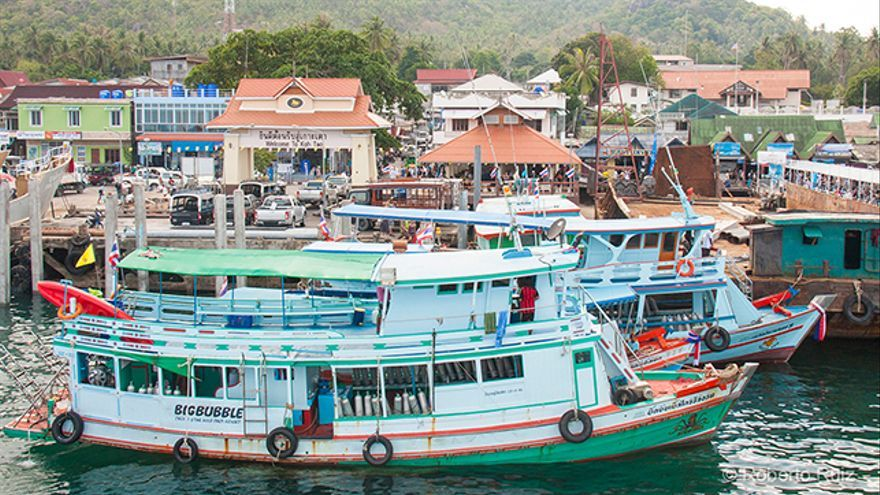 Tailandia, bucear en Koh Tao