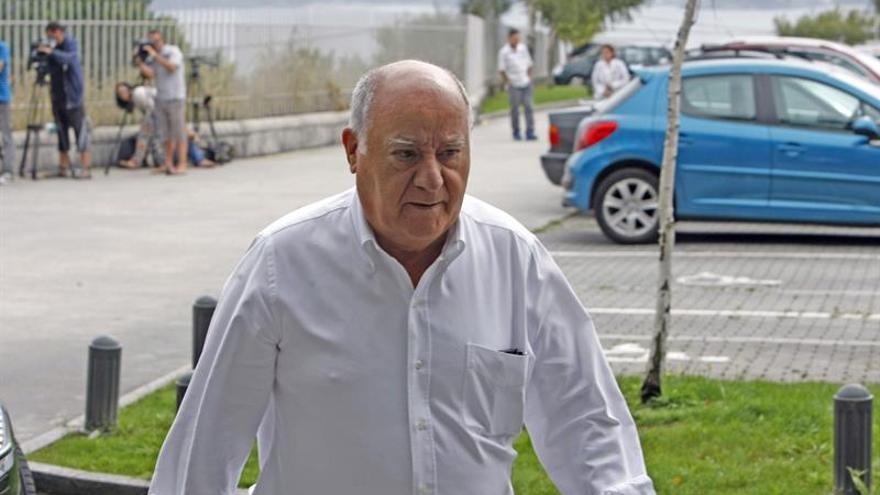 Amancio Ortega, propietario del grupo Inditex y una de las mayores fortunas de España..