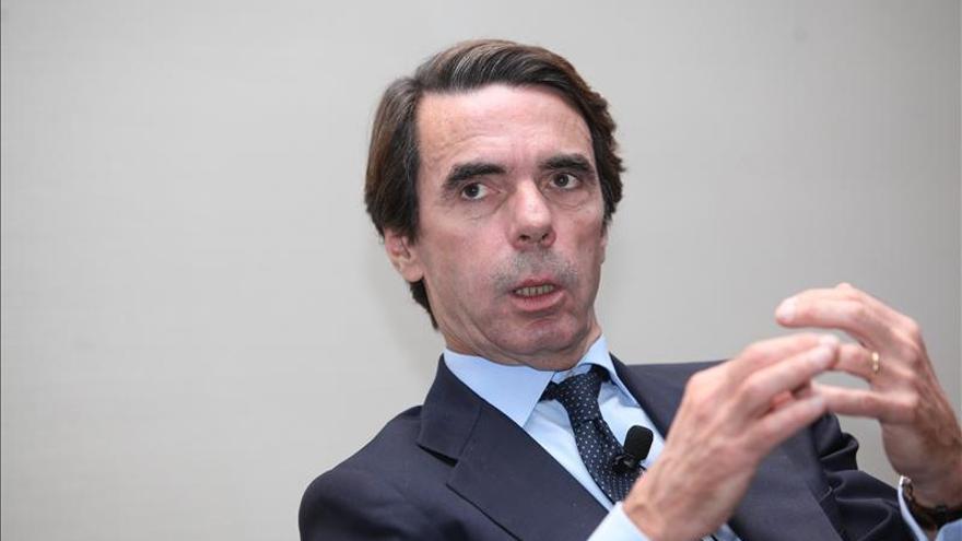 Aznar dice que la sentencia deja al desnudo el radicalismo lamentable de la oposición