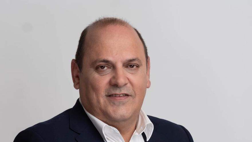 Teo Morales, candidato de Podemos a la alcaldía de Los Realejos, en el norte de Tenerife
