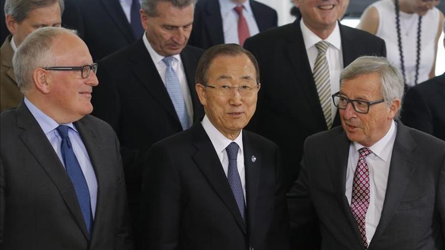 Ban pide el apoyo de la UE en retos globales como el terrorismo o la inmigración