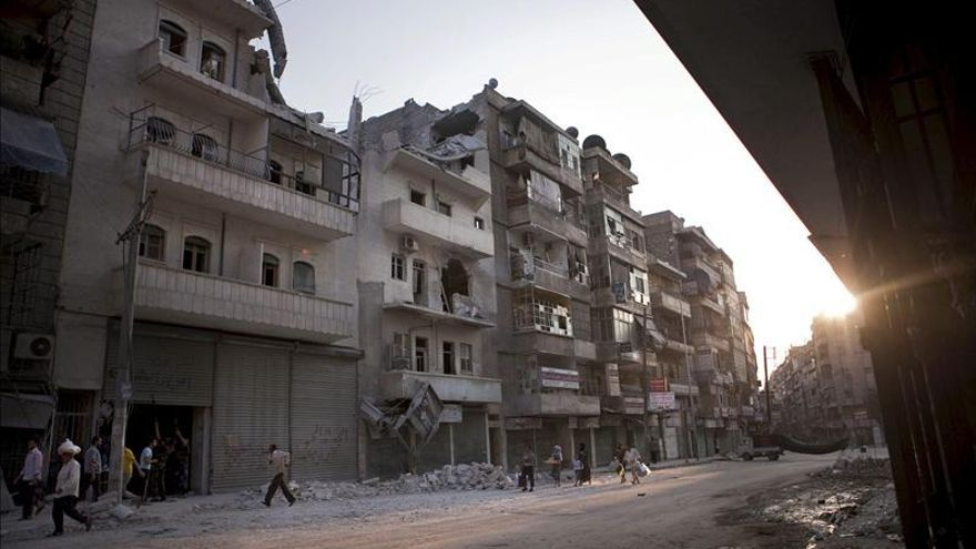 Trece muertos durante un bombardeo del régimen sirio en la localidad de Al Quseir