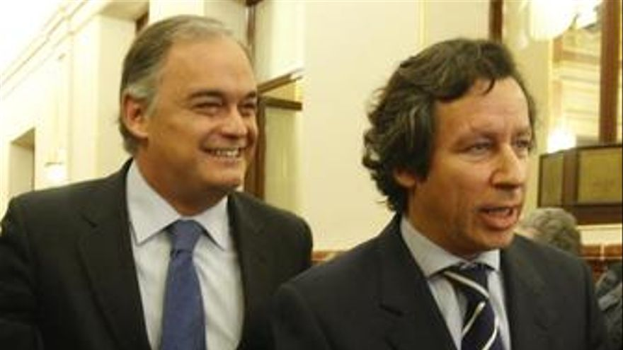 González Pons y Floriano, en el congreso