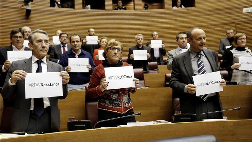 El PSOE recurre hoy ante el Tribunal Constitucional el cierre de RTVV